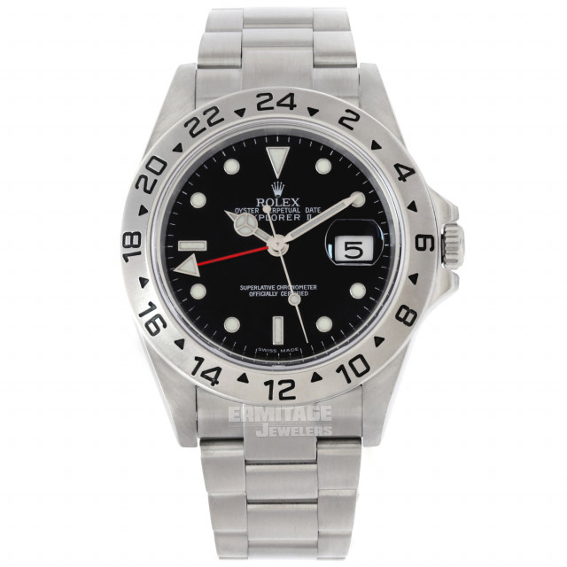 Pre-Owned Rolex Explorer II 16570 Stainless Steel 40 mm