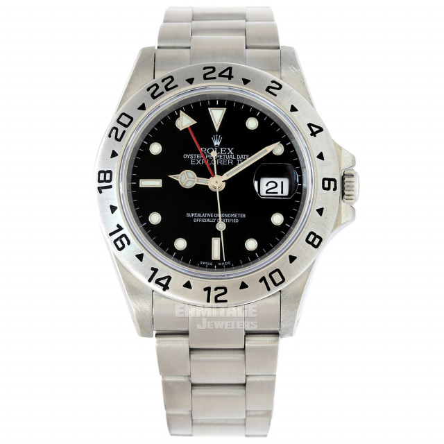 2003 Rolex Explorer II Ref. 16570 40 mm Black