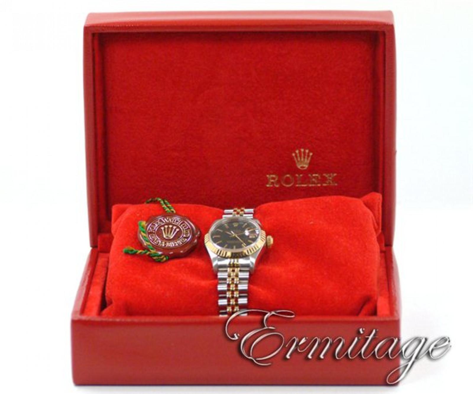 Classic Gold & Steel Rolex Datejust 69173