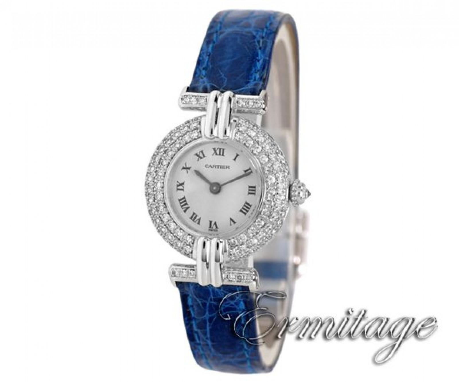 Cartier Colisee WB102931 Diamond Bezel
