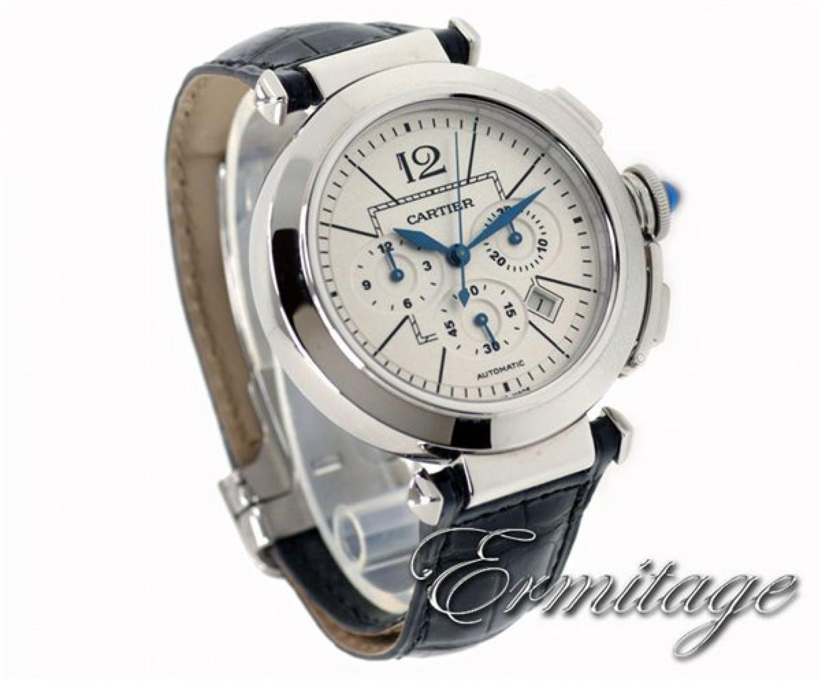 Cartier Pasha W3108555 Steel
