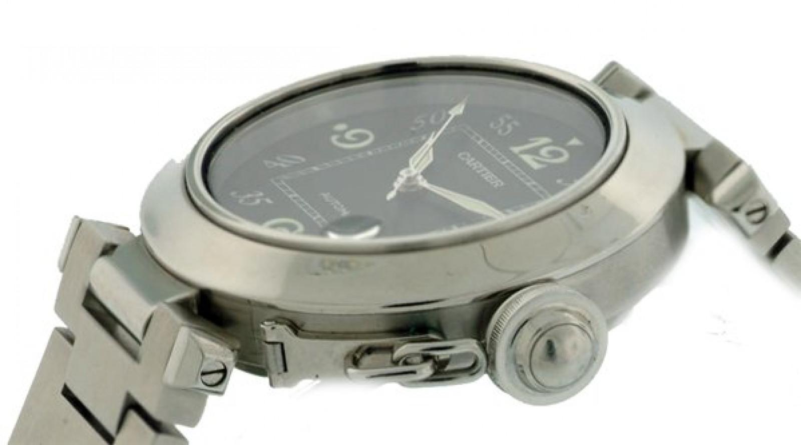 Black Diamond Dial Cartier Pasha W31043M7
