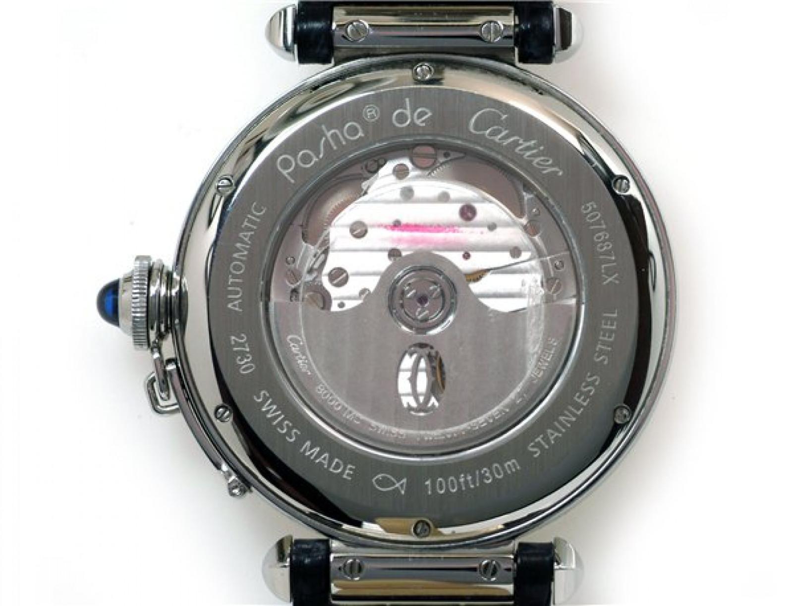Cartier Pasha W3107255 Steel