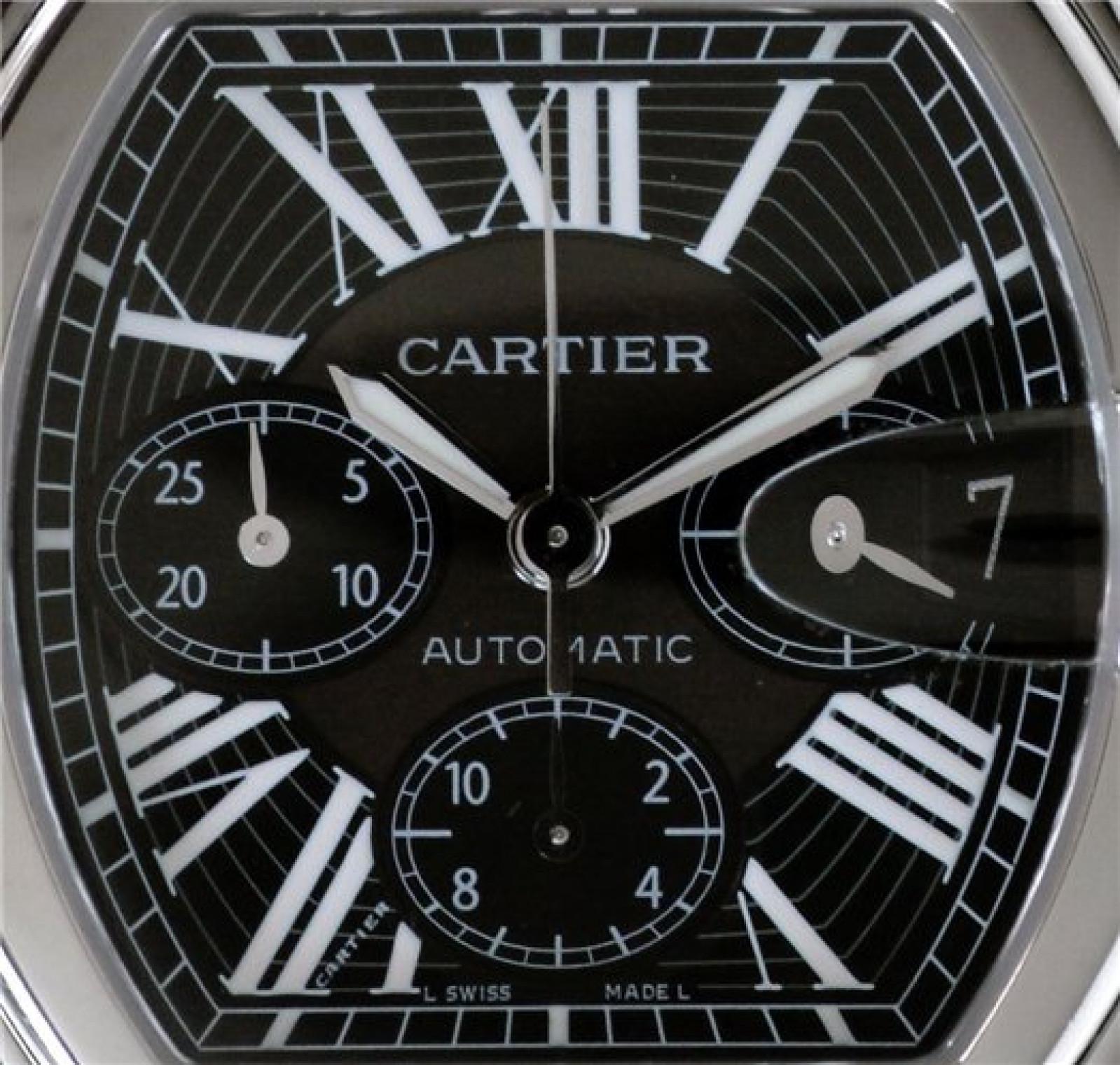 Cartier Roadster W62020X6 Steel