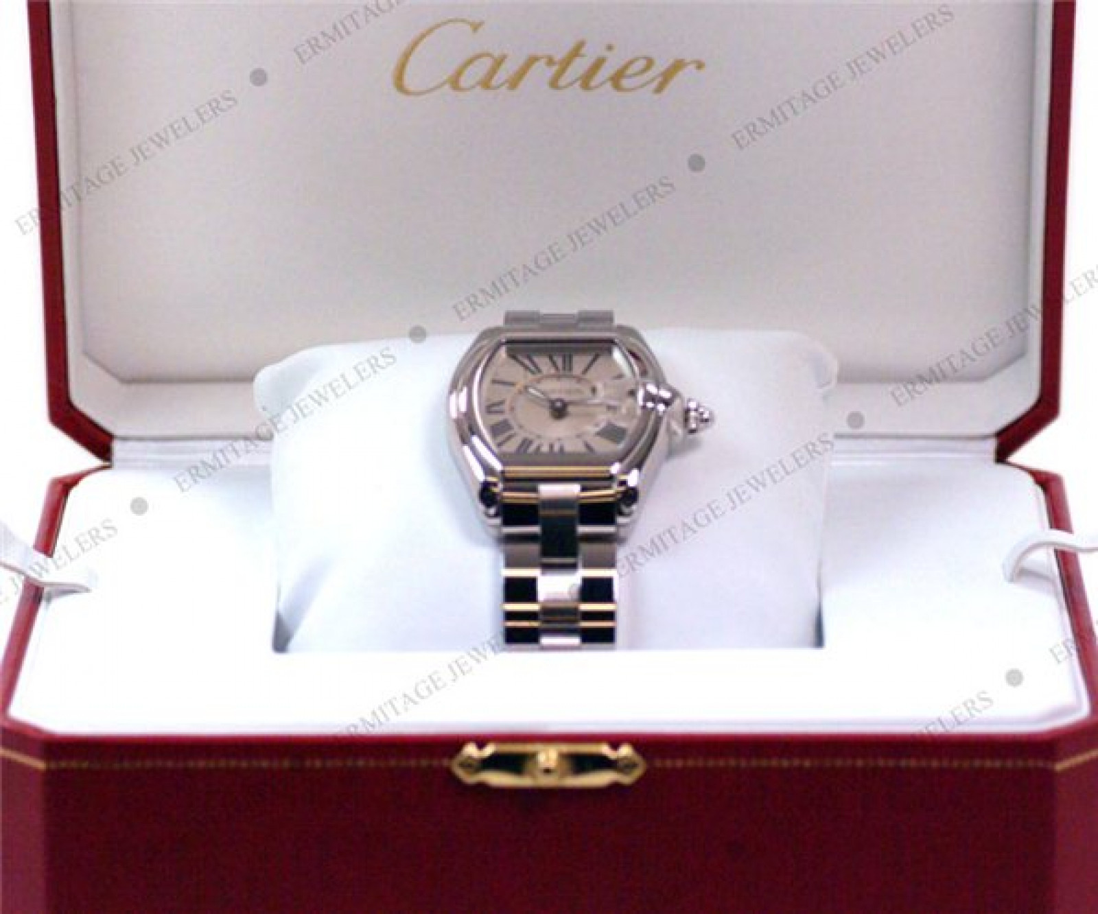 Pre-Owned Cartier Roadster W62016V3 Steel