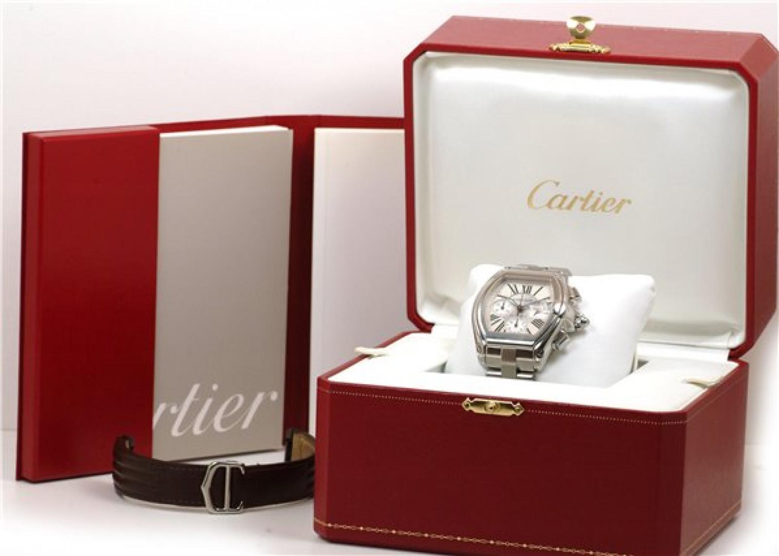 Sell Cartier Roadster W62019X6 Steel