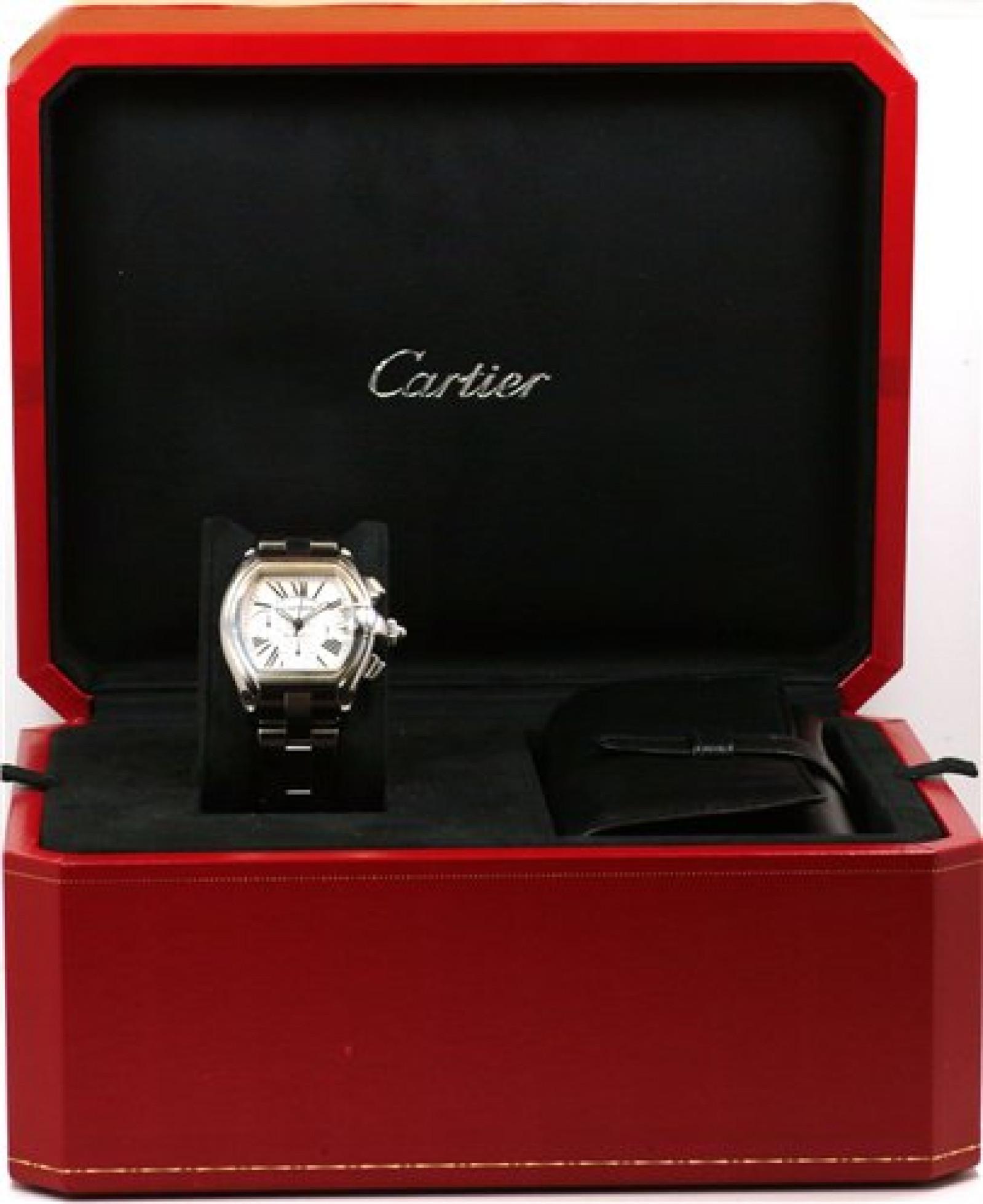 Cartier Roadster W62019X6 Steel