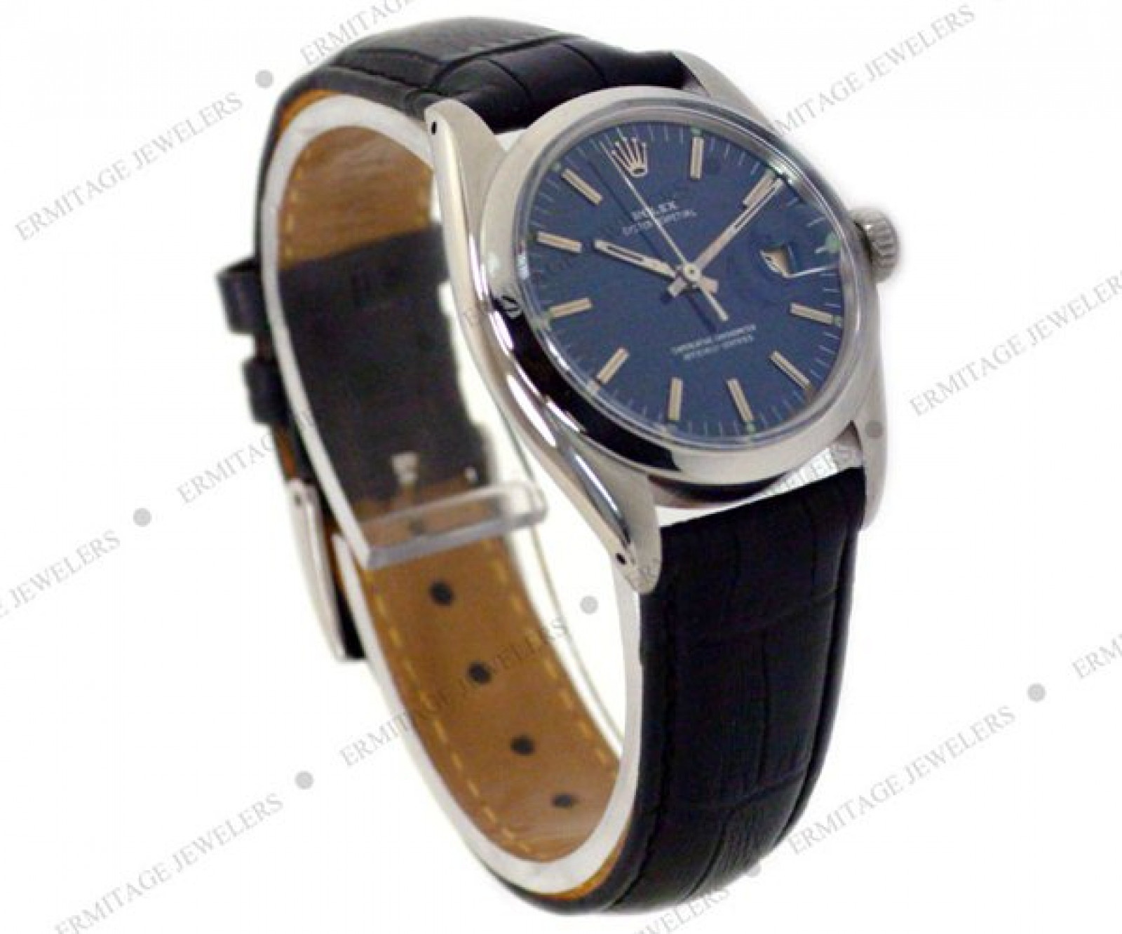 Vintage Rolex Date 1500 Steel Year Circa 1965