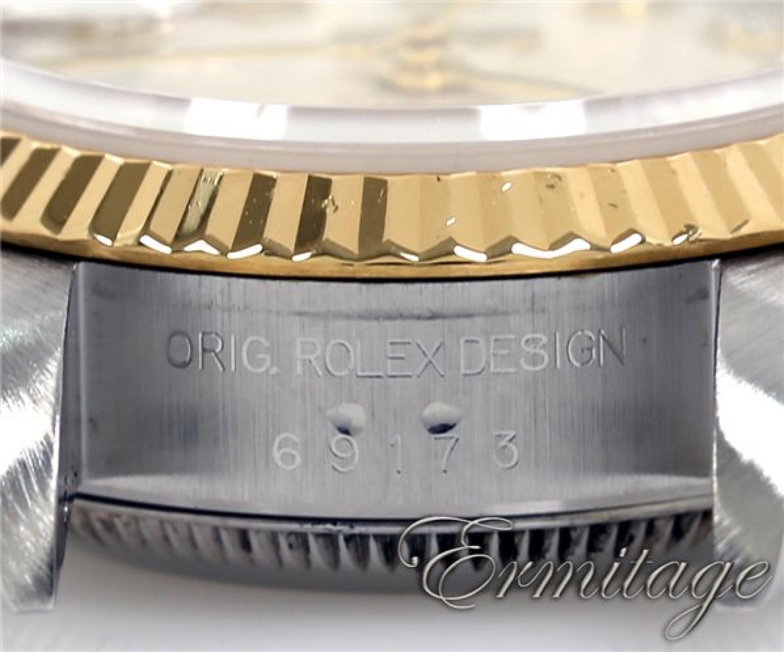 Silver Diamond Dial Rolex Datejust 69173