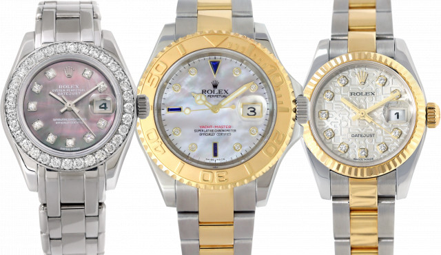 Ladies Rolex with Diamonds