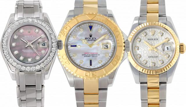 Ladies Rolex with Diamonds
