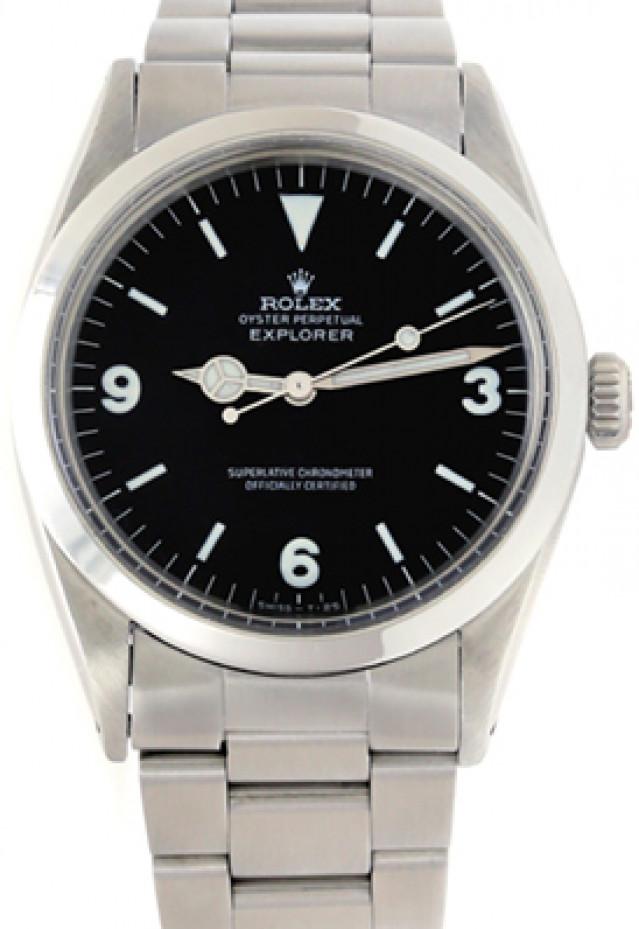 Rolex 1016 Steel on Oyster Black