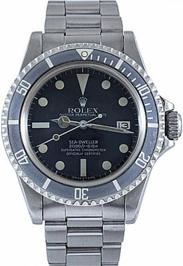 Rolex 1665 Steel on Oyster Black