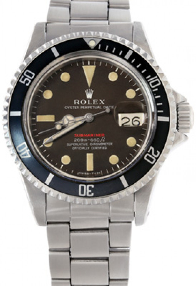 Rolex 1680 Steel on Oyster Black Mark II with Luminous Dots & Index