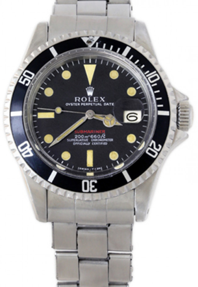 Rolex 1680 Steel on Oyster Black Mark I with Luminous Dots & Index