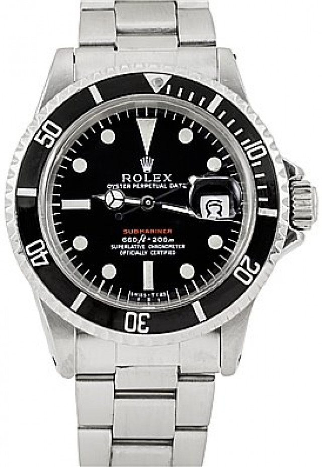 Rolex 1680 Steel on Oyster Black Mark IV with Luminous Dots & Index