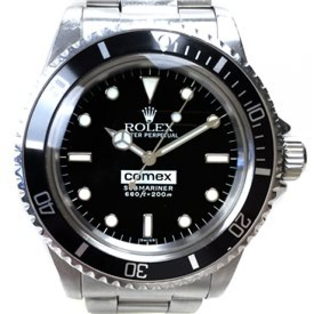 Rolex 5514 Steel on Oyster Black