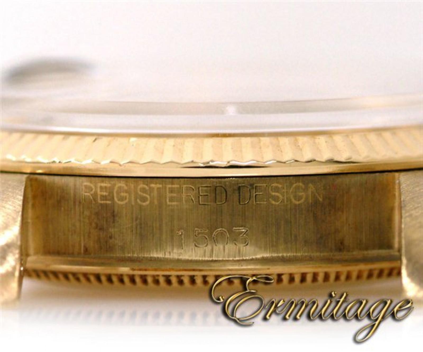 Vintage Rolex Date 1503 Gold Year Circa 1971