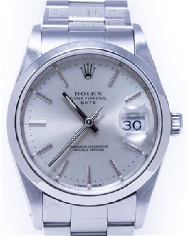 Rolex 15200 Steel on Oyster, Smooth Bezel Steel with Silver Index