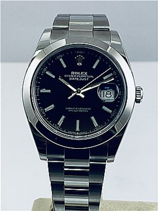 2019 Black Rolex Datejust Ref. 126300
