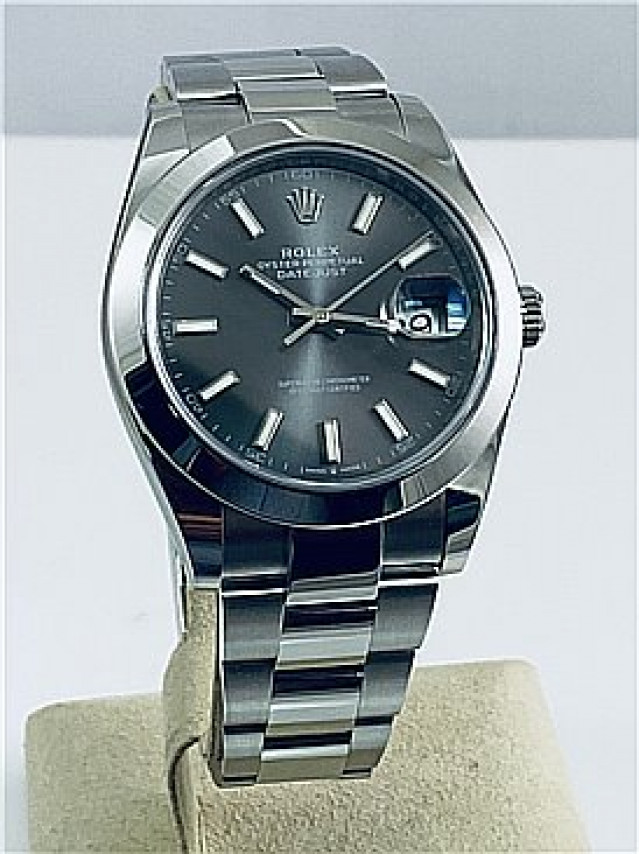 2019 Dark Rhodium Rolex Datejust Ref. 126300