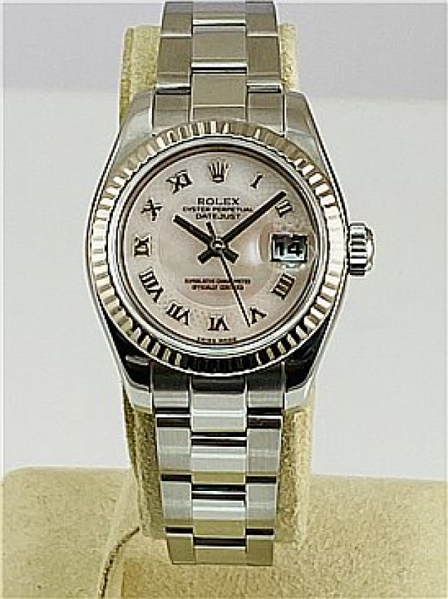 2005 White Rolex Datejust Ref. 179174