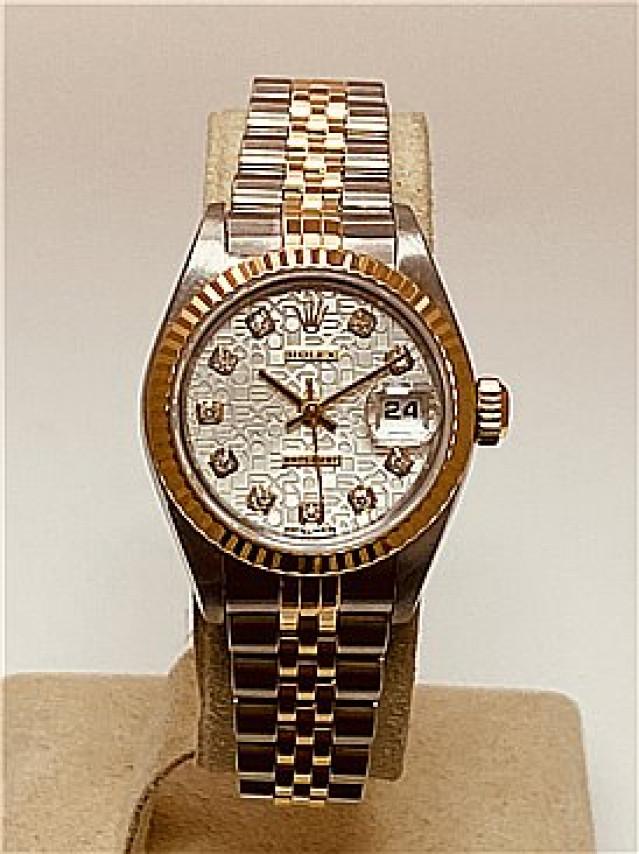 2003 Dimaond Rolex Datejust Ref. 79173