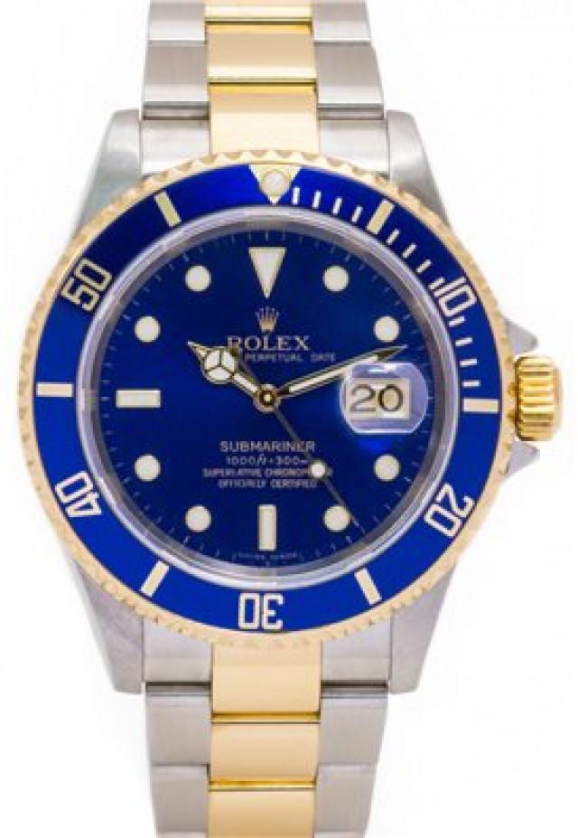 2004 Rolex Submariner Ref. 16613