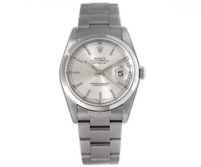 2014 Rolex Datejust 16200 Steel