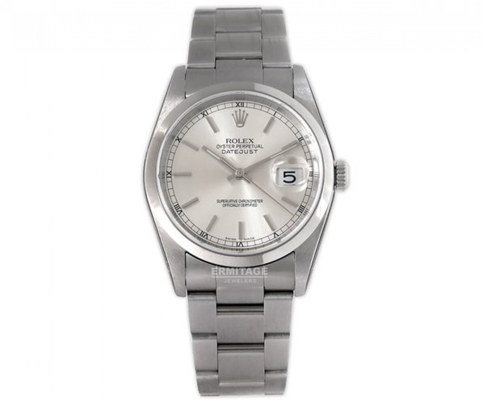 2014 Rolex Datejust 16200 Steel