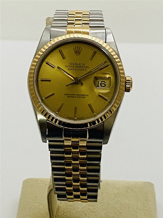 Pre-Owned Rolex Datejust 16233 Steel