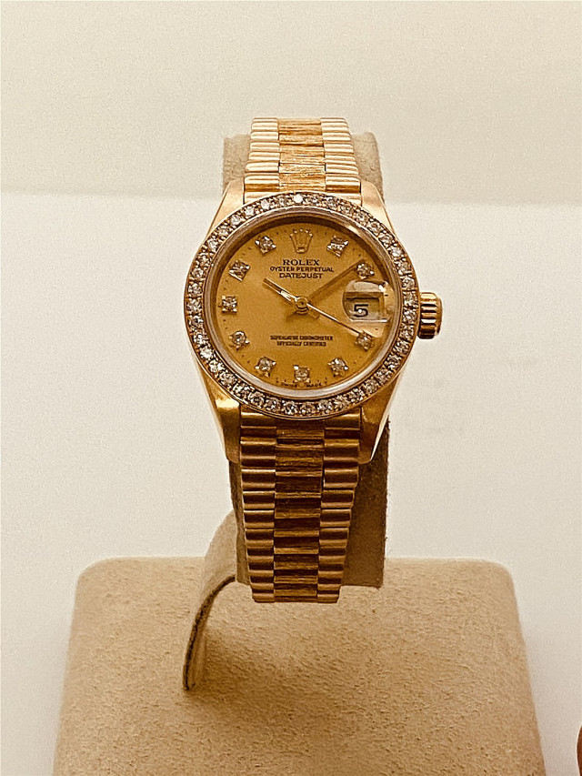 Diamond Rolex Datejust 69278 President for Women