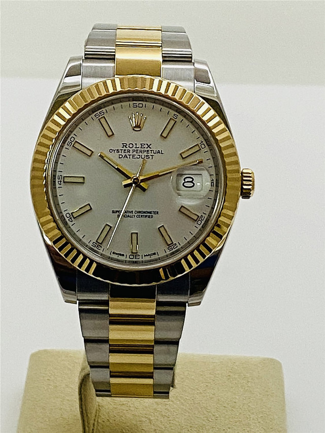 2018 Rolex Datejust 126333 Steel