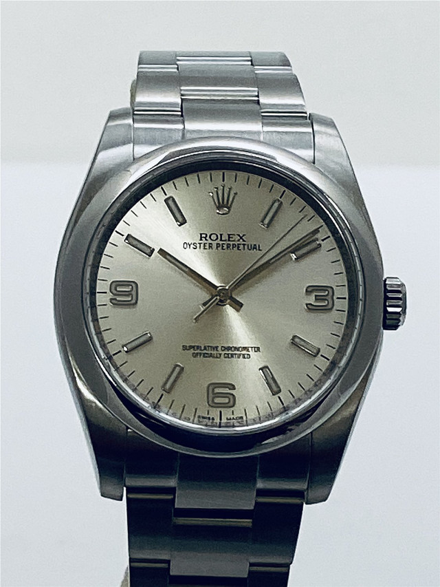 2014 Rolex Oyster Perpetual 116000 Steel