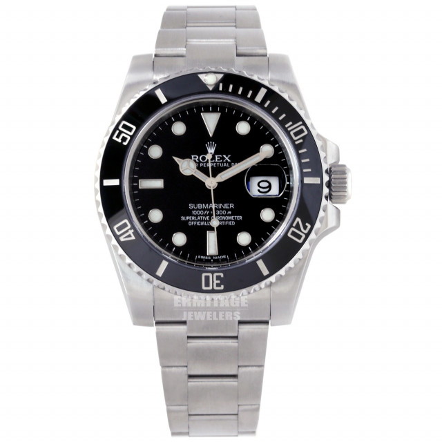 2012 Rolex Submariner 116610 Steel