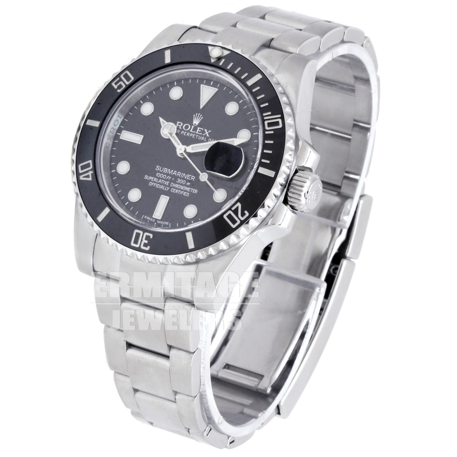 2012 Rolex Submariner 116610 Steel