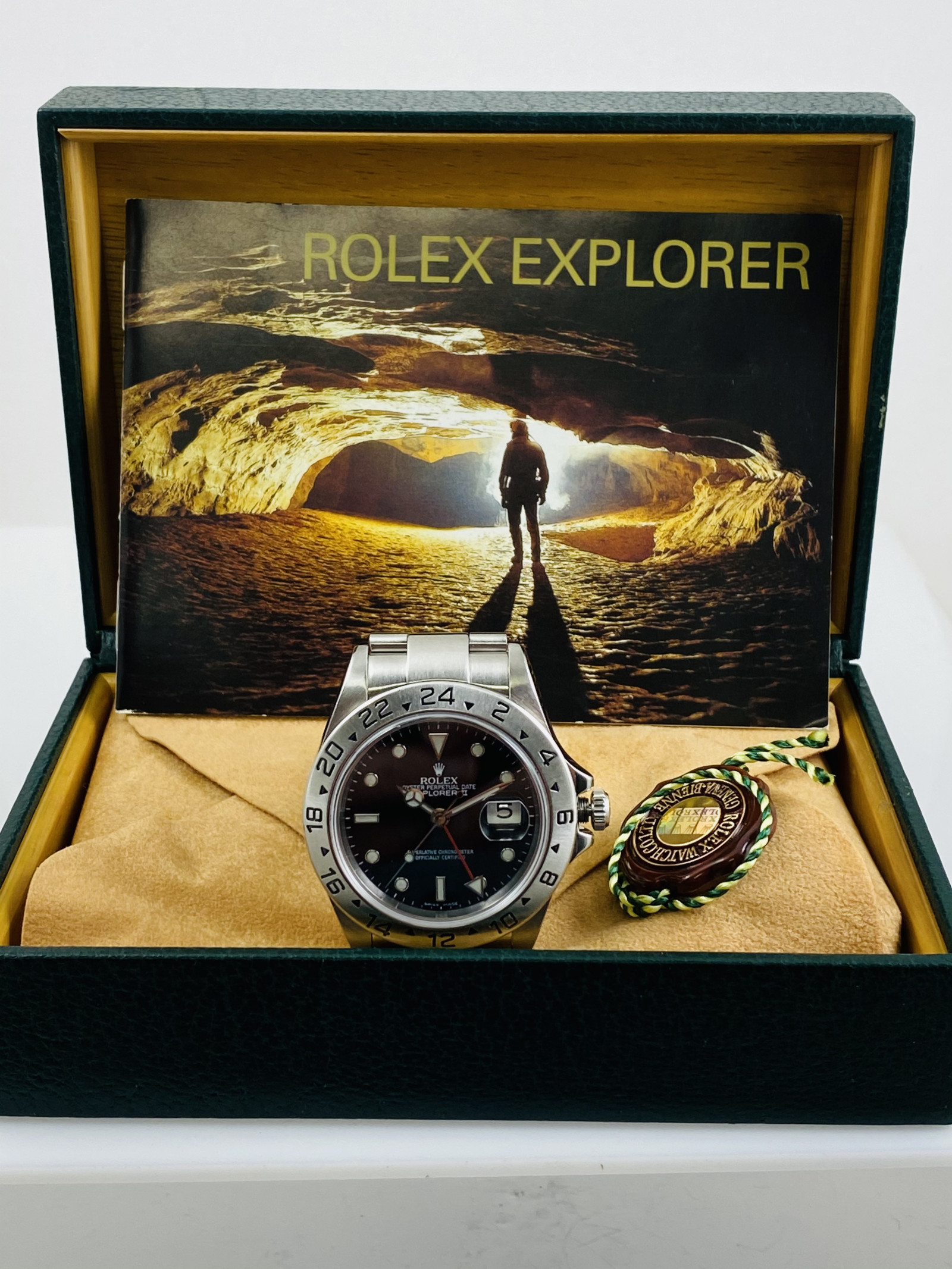 Rolex Explorer II 16570 Mint Condition 2004
