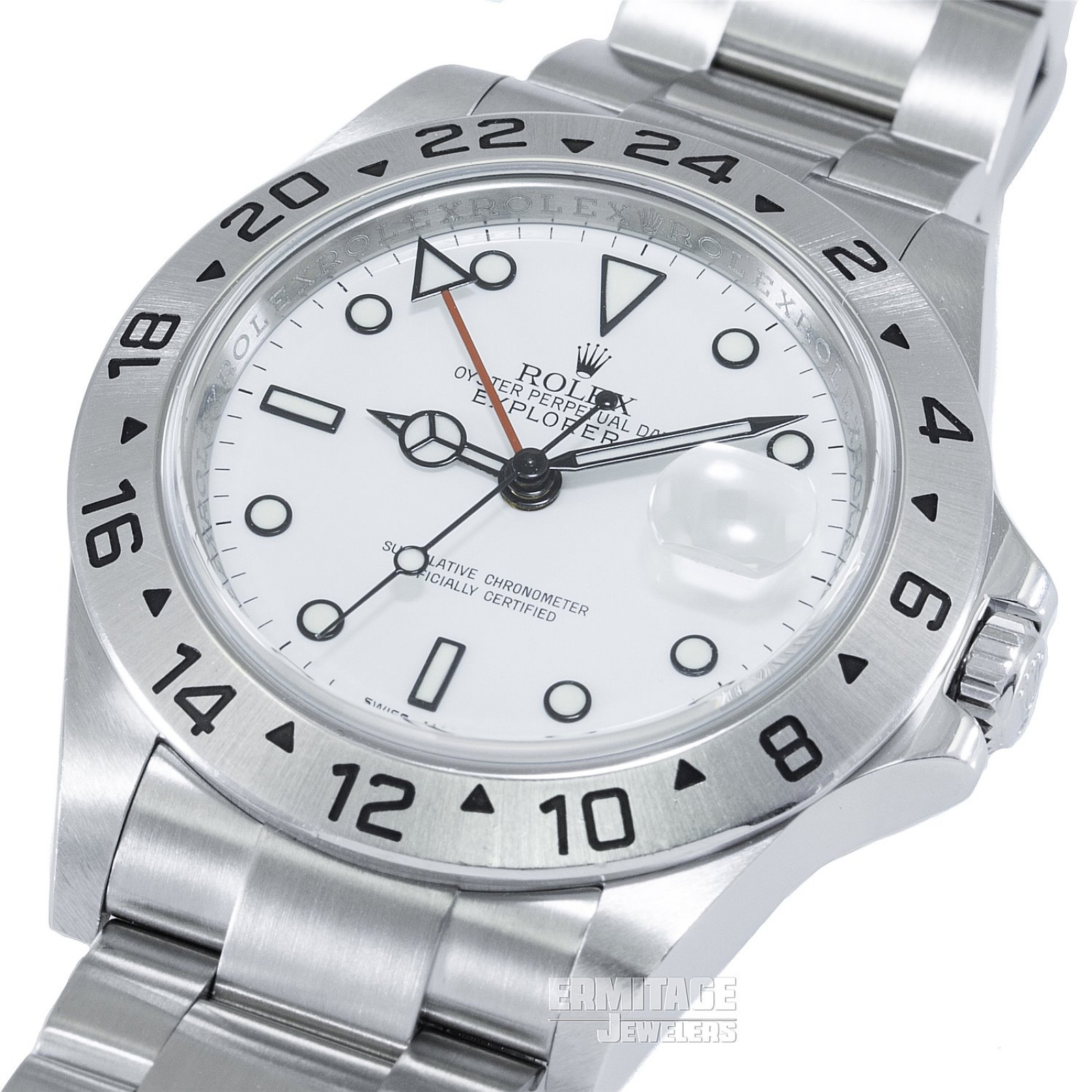 Rolex Explorer II Ref. 16570 Extremely Rare Caliber 3186 Never Been Polished