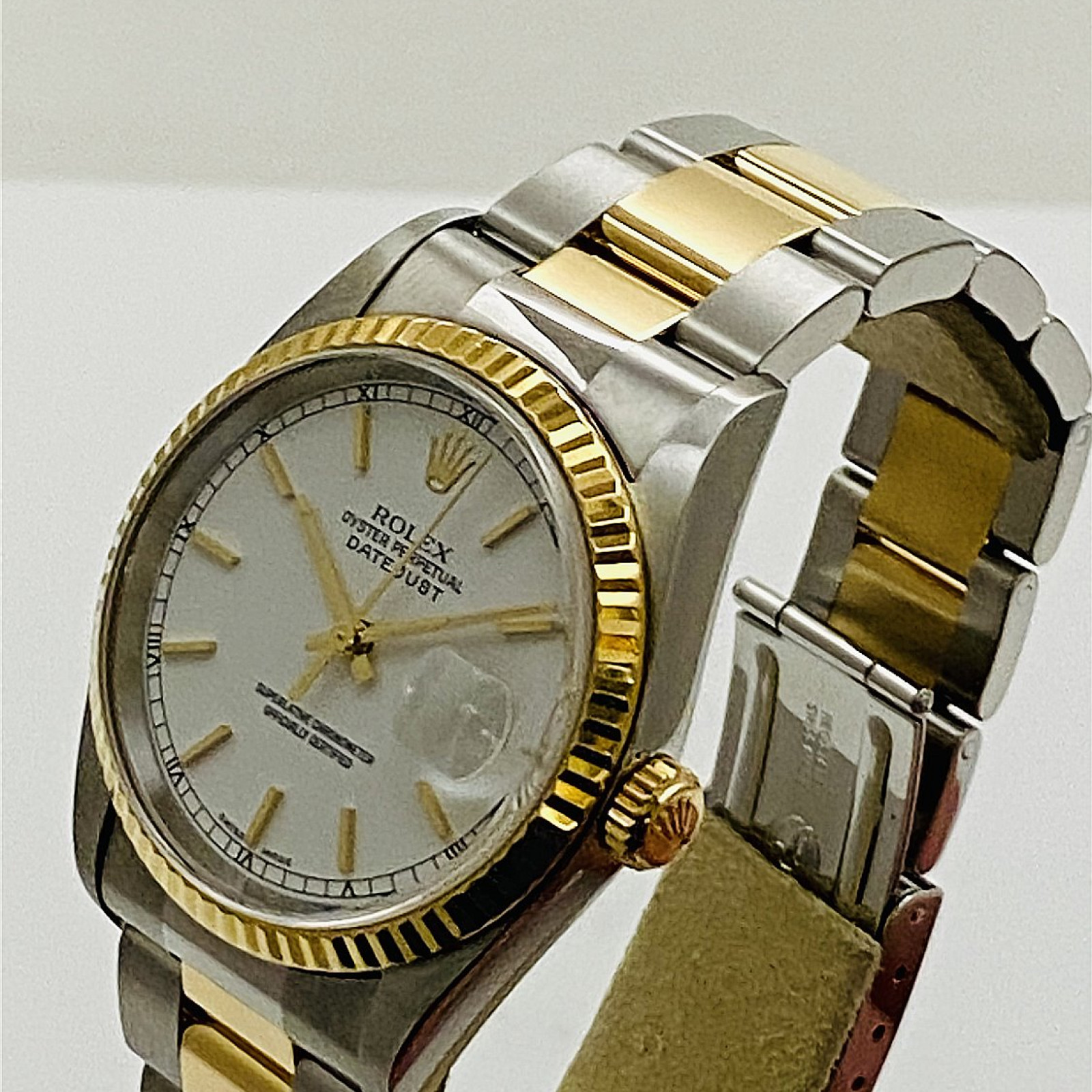 2000 Rolex Datejust 16263 Steel