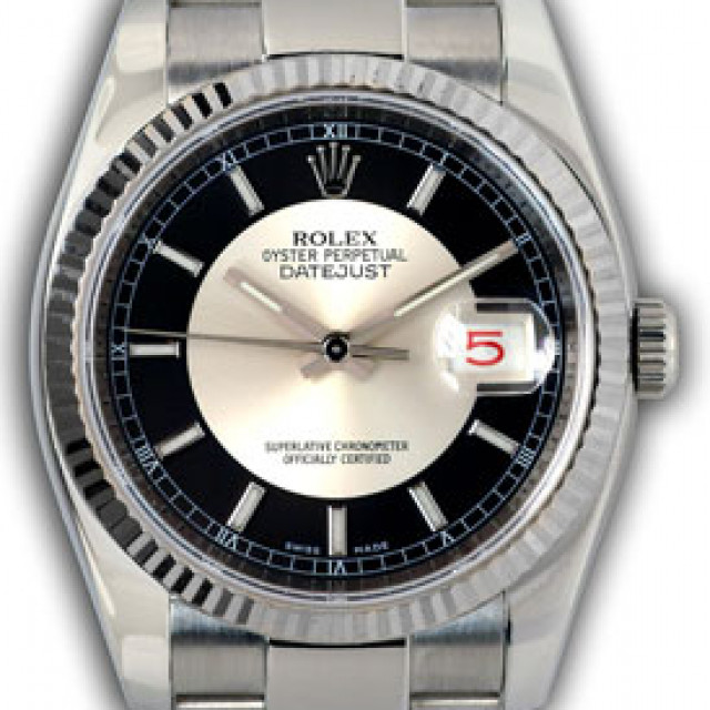 Sell Rolex Datejust 116234 Steel with 18 kt White Gold Bezel