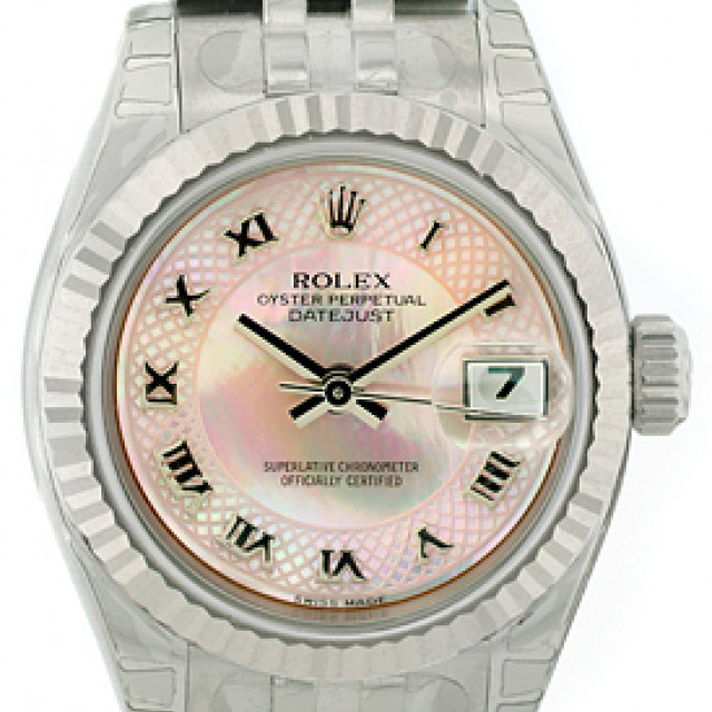 Rolex Datejust 179174 Steel with White Dial