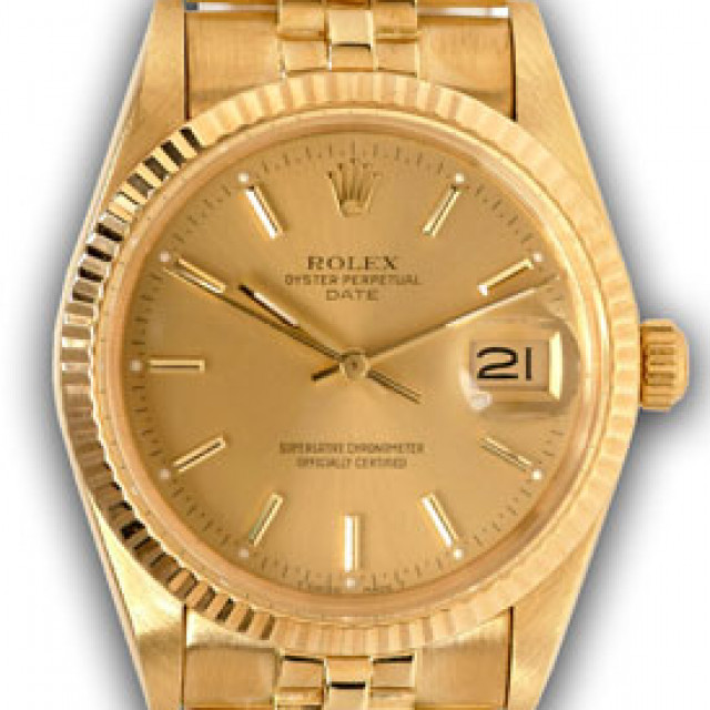 Rolex 15037 Oyster Perpetual Date