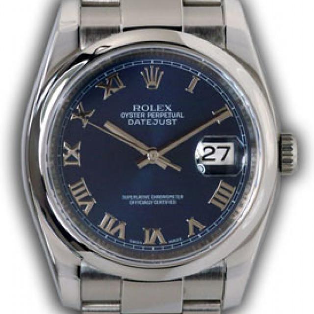 Rolex Datejust 116200 Steel Blue