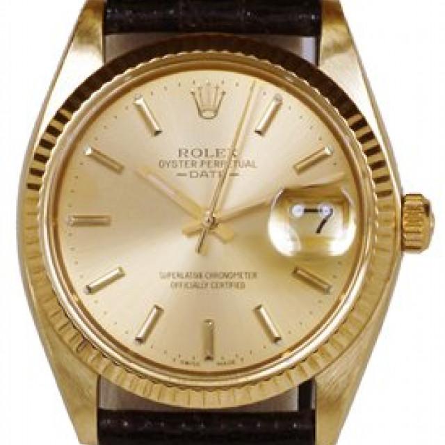 Vintage Rare Rolex Date 1503 Gold