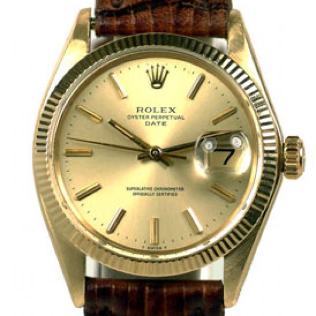 Vintage Gold Rolex Date 1503 Year 1973