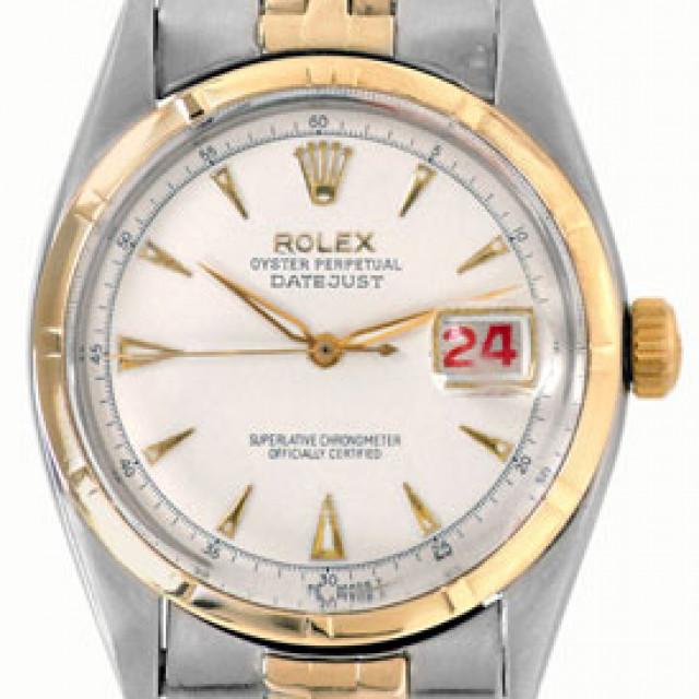 Vintage Rolex Datejust 6305 Gold & Steel