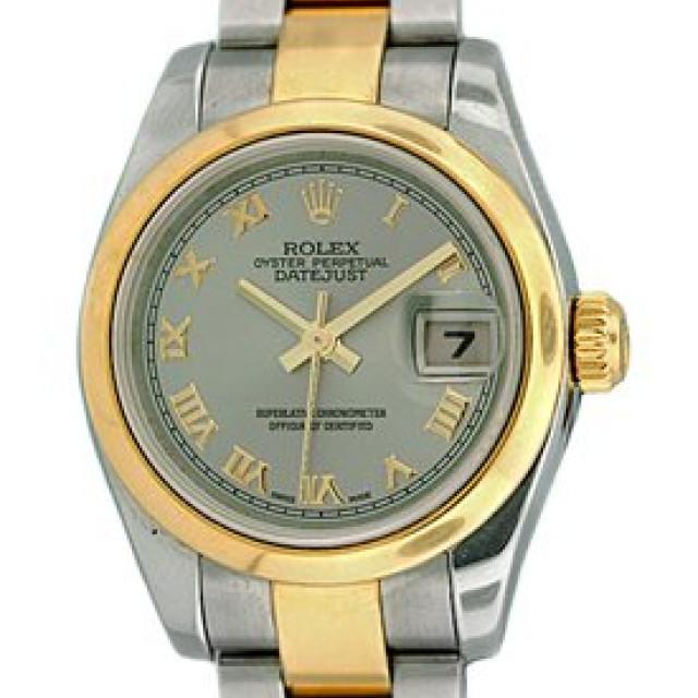 Rolex Datejust 179163 Gold & Steel Rhodium