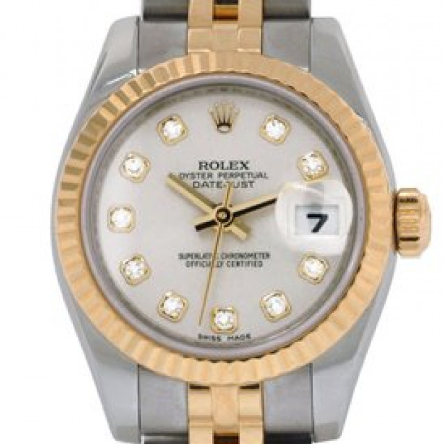 Pre-Owned Rolex Datejust 179173 with Diamonds