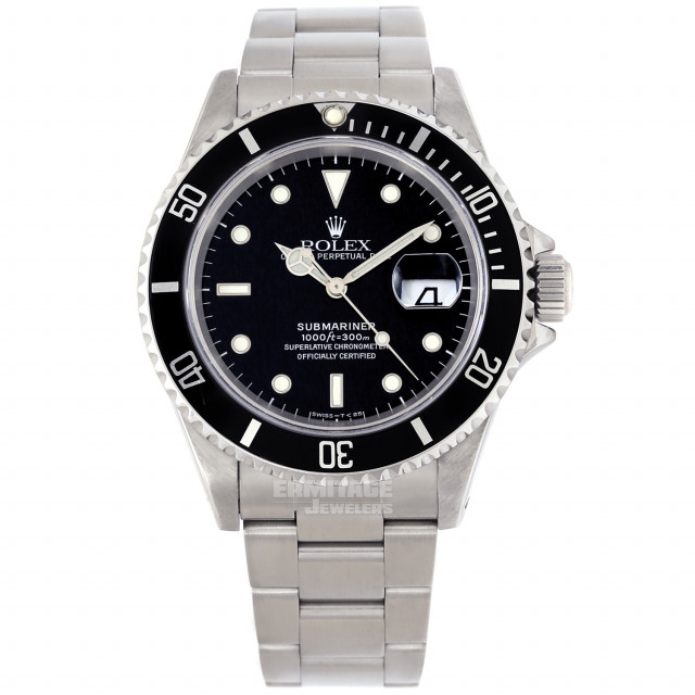 Iconic Rolex Submariner 16610 Steel