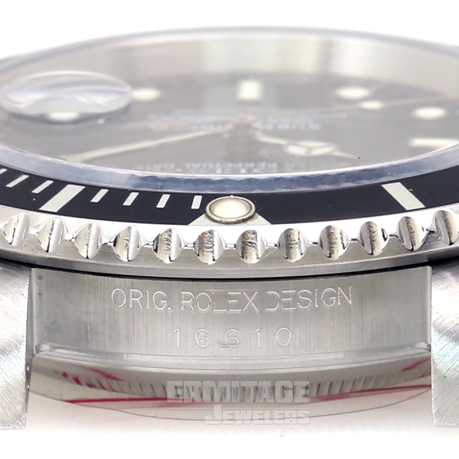 Iconic Rolex Submariner 16610 Steel